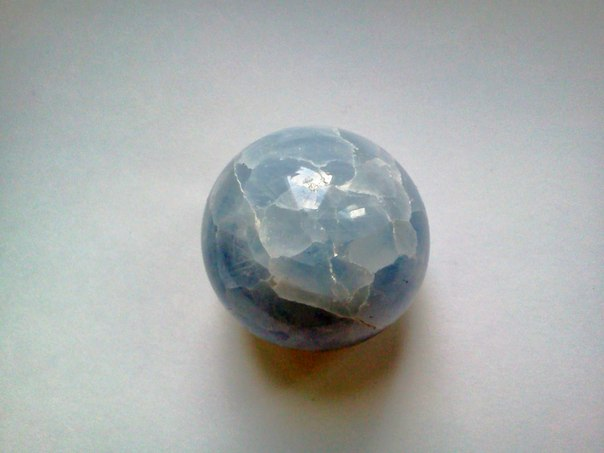 Энергия камней № 78 Голубой кальцит (шар) фото, обсуждение