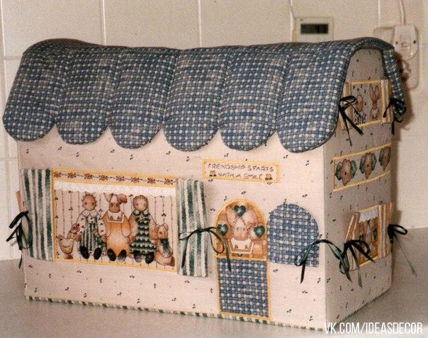 Чехол для швейной машинки своими руками с выкройкой