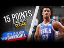 Jimmy Butler Full Highlights 2018.11.17 76ers vs Hornets - 15 Pts, CLUTCH! | FreeDawkins