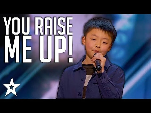 13 Y O Kid Singer Gets Standing Ovation on America's Got Talent Got Talent Global