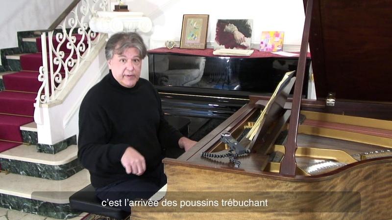 Andrei Gavrilov raconte et joue les Tableaux d'une exposition. « Ballet des Poussins» Part 6