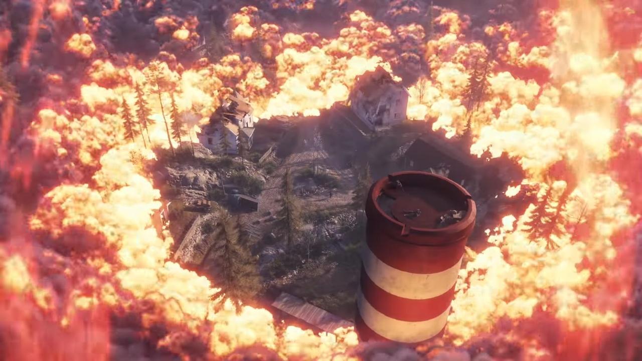 Firestorm в игре Battlefield 5