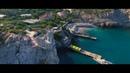 Полеты над Крымом Ласточкино гнездо Аквапарк Пляжи C квадрокоптера 4K UHD