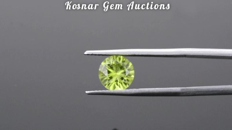 Pretty Lime Green Pakistani Peridot Gemstone from KGC