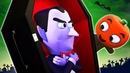 ¿Estás Durmiendo, Vampiro? - Canciones de Halloween | A Bebés Contentos