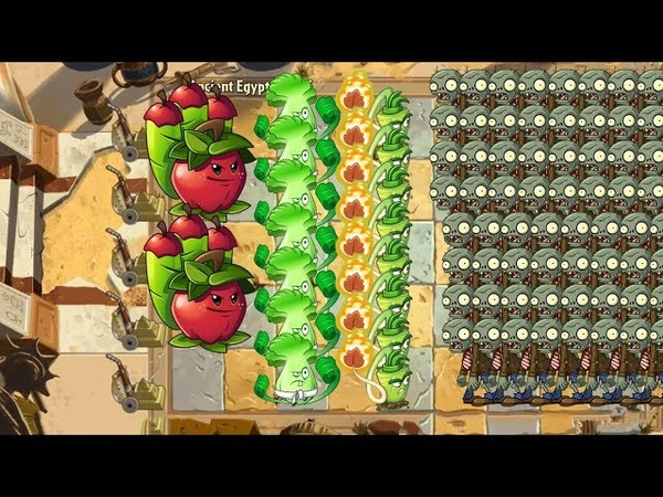 Plants vs Zombies 2 - Bonk Choy, Wasabi Whip and Apple Mortar