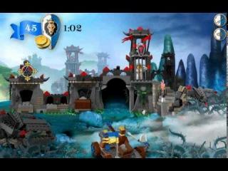 Лего Замок игра Дракон горы  (Lego Castle Dragon Mountain Game)