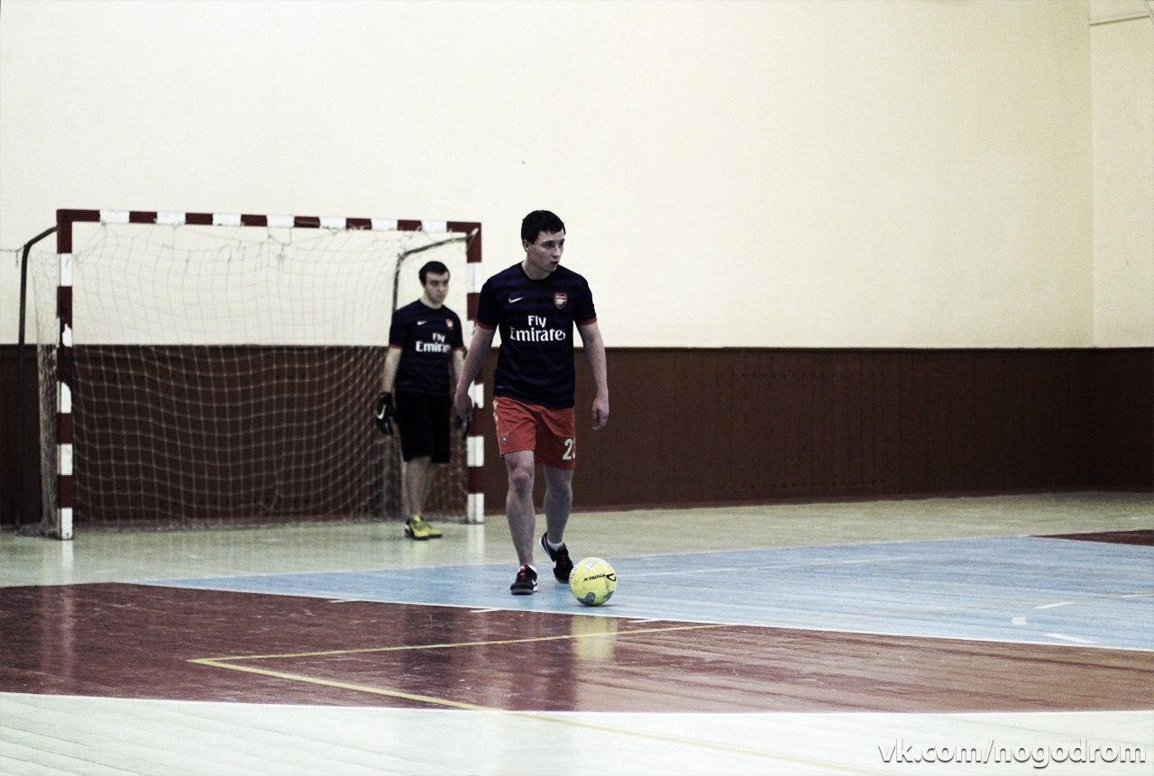 Играем в футбол в Москве