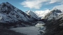 Алтай Белуха Снег на Аккеме в июне 4K Невероятная красота