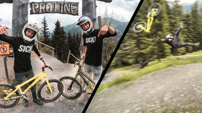 Downhill on a Trials Bike |SickSeries 52