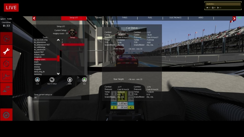 VK LIVE 2 Magny-Cours @ I-SRC GT3 Cup S4 - LIVE ONBOARD