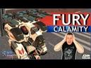 War Robots Fury на Calamity MK2
