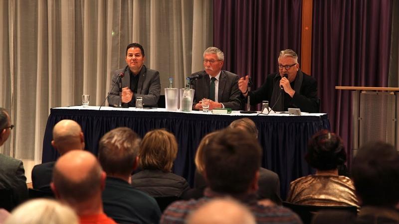 """Thilo Sarrazin und Hamed Abdel-Samad diskutieren in Dresden: """"Der Hass vergiftet uns alle"""""""