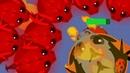 ЧЕРНЫЙ Дракон против КРАСНЫХ Драконов в Mope.io! Нашествие Драконов в Мопе ио