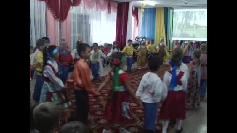 Чем заняты дети летом, детский сад