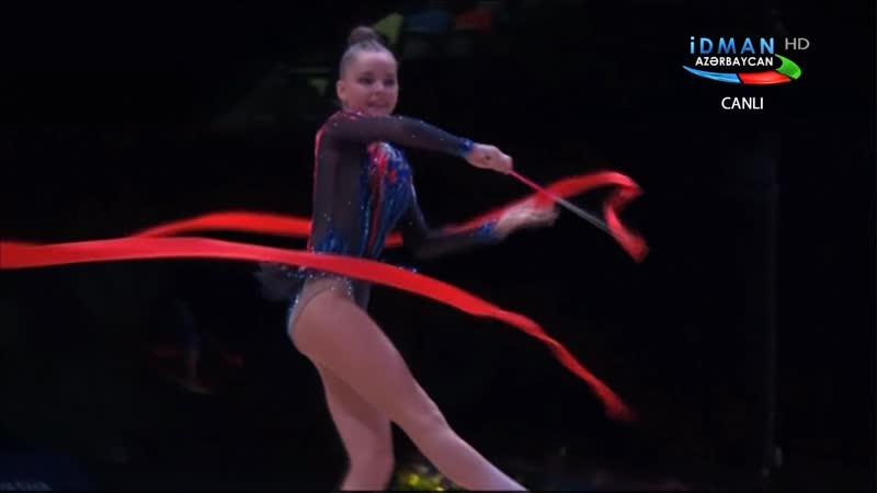 Арина Аверина - лента (многоборье) Этап Кубка Мира 2019, Баку