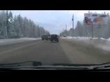 У водителя отличная реакция на летящий в лоб автомобиль
