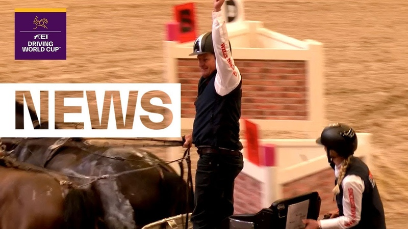 The die is cast! Results of the final Driving leg | FEI Driving World Cup™