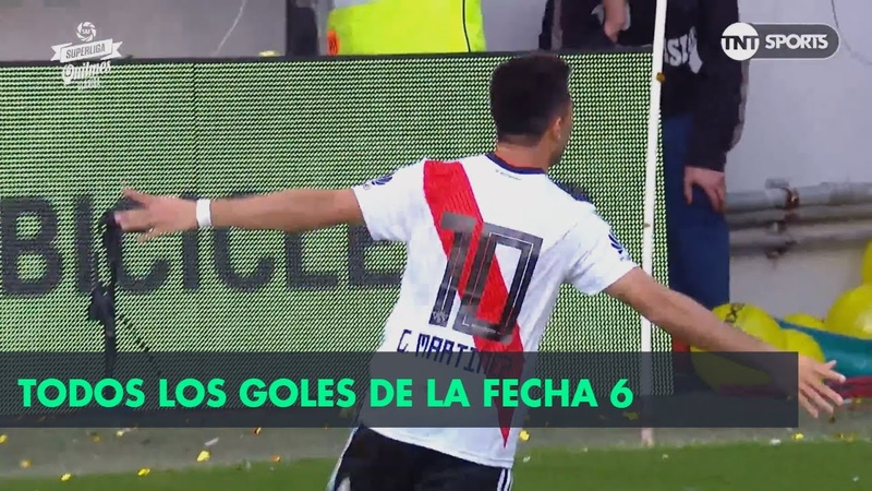 Аргентина. Суперлига. Все голы 6 тура сезона 2018/19