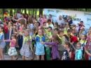 Массовый танец Колесики