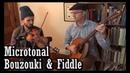 Microtonal Irish Bouzouki Fiddle - Flynn Cohen Duncan Wickel