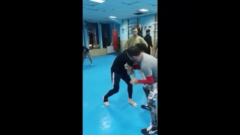 Wrestling master class