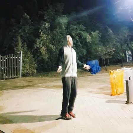 """Bernard Park on Instagram: """"Got tired of running on the treadmill so came out to the park for a quick cardio sesh instantregret"""""""