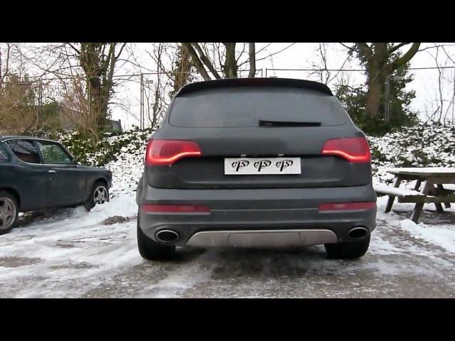 I love this car Audi Q7 4.2 V8 FSI met maatwerk kleppen uitlaat van EPS Uitlaten BV -Sound on demand-