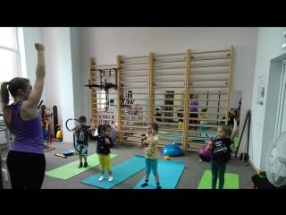 Детская гимнастика с Чуйковой Вероникой