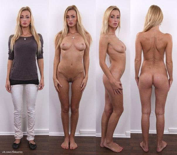 Фото девушек раздетые и одетые 13 фотография