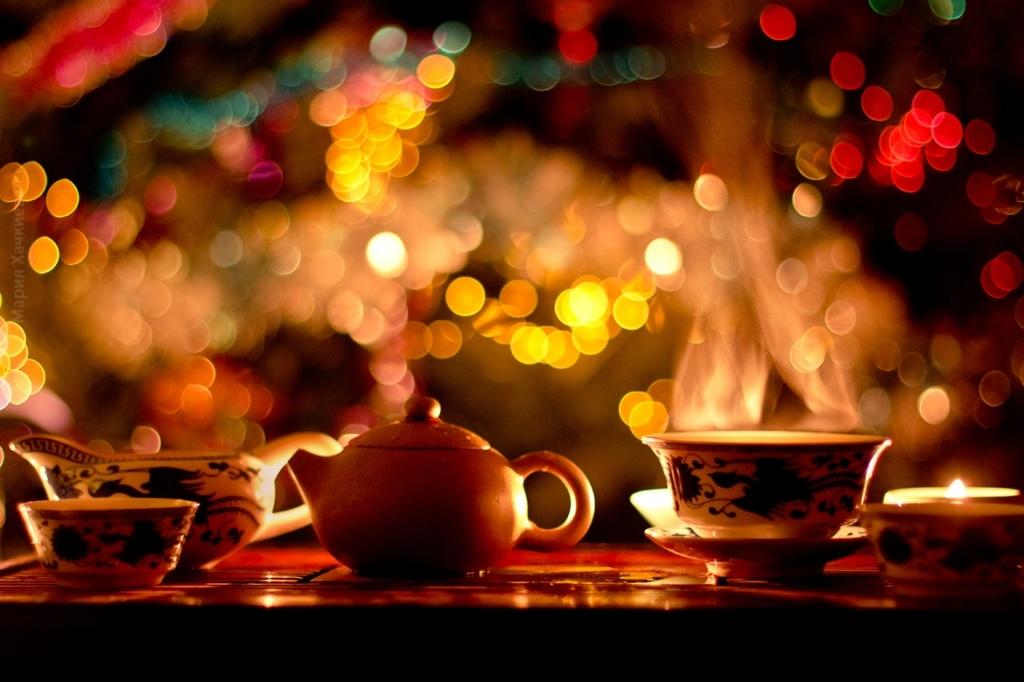 Афиша Рождественская чайная встреча друзей