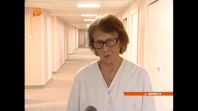 В Нерехтской районной больнице капитально отремонтировано родильное отделение