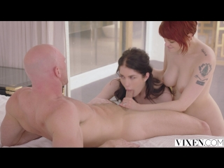 Bree daniels, evelyn claire - my first date with a couple (25.03.18)