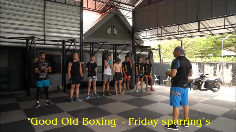 Good Old Boxing - Friday sparring`s(01.02.19)