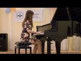 Файзуллина Анна играет С. Прокофьева Соната №2 I часть
