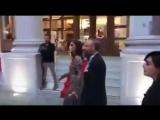 Бергюзар Корель и Халит Эргенч на Церемонии Золотой объектив.08_05_2018