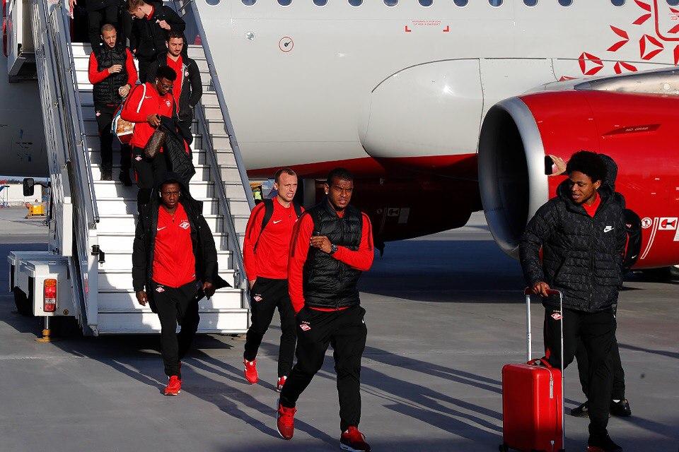 «Спартак» прибыл в Екатеринбург