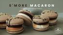 S'more Macaron Recipe Chocolate Macaron Cooking tree
