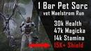 1 Bar Pet Sorc Build for vMA Full Walkthrough Guide