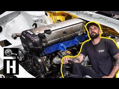 NEW Build! - We Swap a 1jz Into Vin's Nissan s14 Drift Project