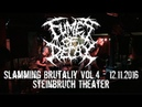 Fumes Of Decay Live @ Slamming Brutality Vol 4 Steinbruch Theater 12 11 2016 Dani Zed