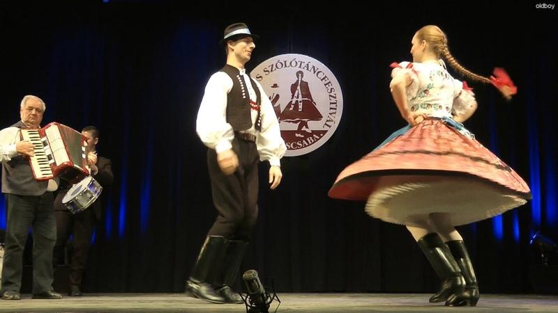 Ágnes s Bence Maglódi szlovák táncok