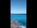 на пляже в Ливадии