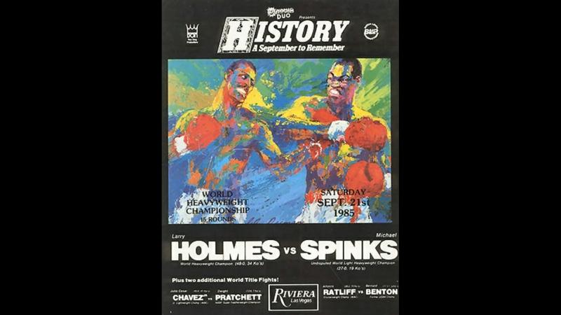 Майкл Спинкс vs Ларри Холмс (Michael Spinks vs Larry Holmes) 21.09.1985