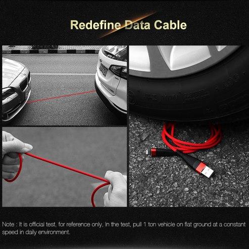 Прочный зарядный кабель Floveme трех типов
