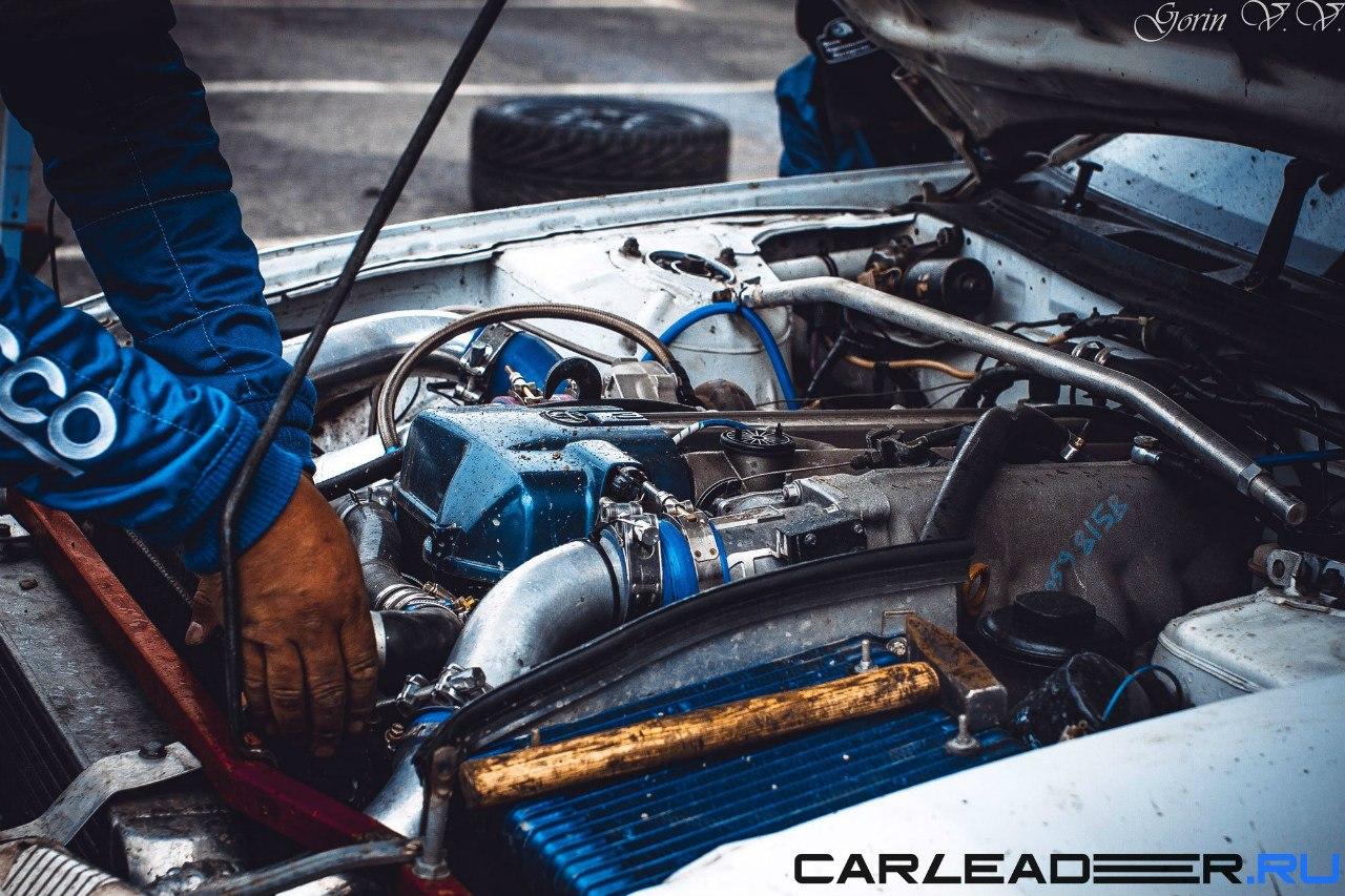 Toyota JZ drift car leader