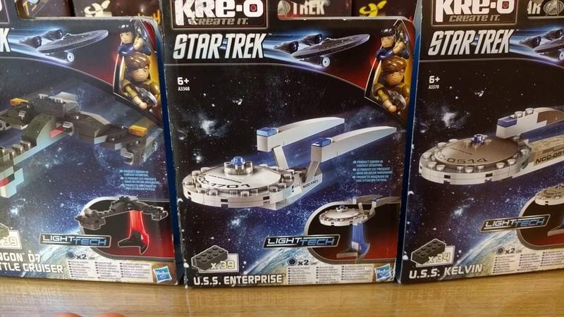 Enterprise Kelvin Klingon Battlecruiser KRE-O