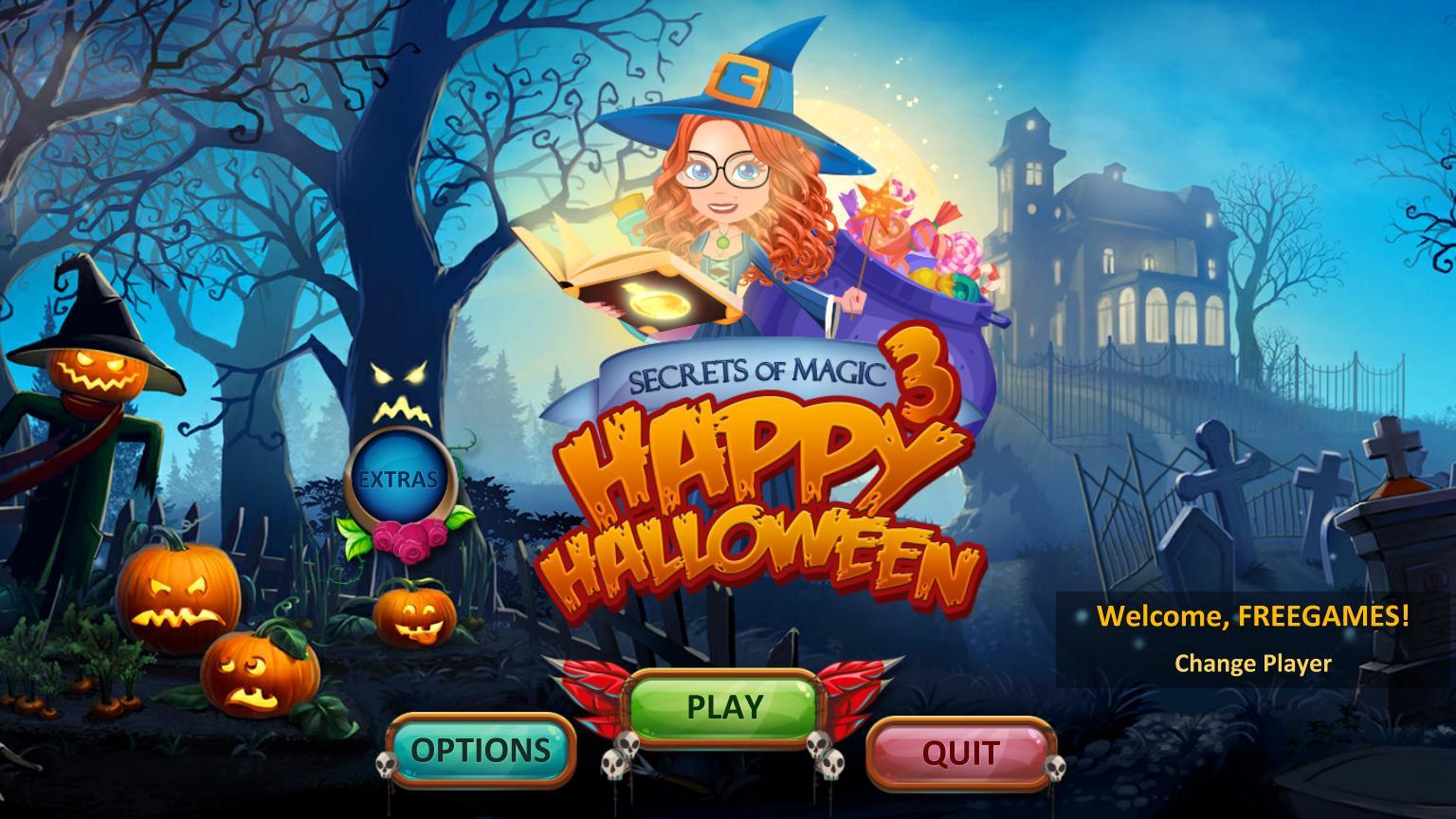 Секреты магии 3: Счастливого Хэллоуина | Secrets of Magic 3: Happy Halloween (En)