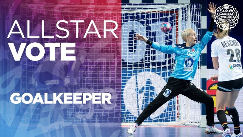 ALL STAR TEAM Selection Goalkeeper Women's EHF EURO 2018