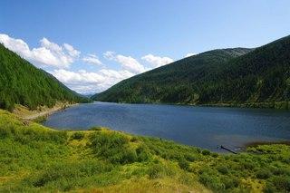 Мертвое озеро в Казахстане